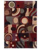 RugStudio presents Shaw Inspired Design Montecito Multi 06440 Machine Woven, Better Quality Area Rug