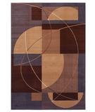 RugStudio presents Shaw Inspired Design Mojo Brown 07700 Machine Woven, Better Quality Area Rug