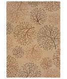 RugStudio presents Shaw Inspired Design Isabella Beige 12100 Machine Woven, Better Quality Area Rug