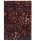 RugStudio presents Shaw Inspired Design Isabella Brown 12700 Machine Woven, Better Quality Area Rug