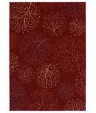 RugStudio presents Shaw Inspired Design Isabella Red 12800 Machine Woven, Better Quality Area Rug