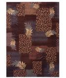 RugStudio presents Shaw Inspired Design Majesty Brown 13700 Machine Woven, Better Quality Area Rug