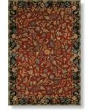 RugStudio presents Shaw Modern Home Castello Red - 03800 Machine Woven, Best Quality Area Rug