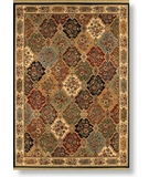 RugStudio presents Shaw Modern Home Carrabelle Multi - 4440 Machine Woven, Best Quality Area Rug