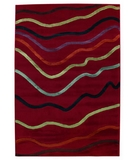 RugStudio presents Shaw Impressions Jet Stream Red 06800 Machine Woven, Best Quality Area Rug