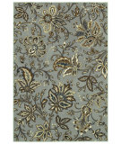 RugStudio presents Shaw Newport Jillian's Garden Silver 16500 Machine Woven, Better Quality Area Rug