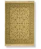 RugStudio presents Shaw Antiquities Kashan Beige 73100 Machine Woven, Best Quality Area Rug