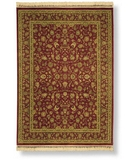 RugStudio presents Shaw Antiquities Kashan Brick 73800 Machine Woven, Best Quality Area Rug