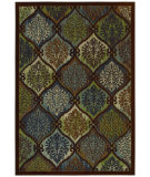 RugStudio presents Shaw Newport Kate Dark Multi 08770 Machine Woven, Good Quality Area Rug