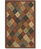 RugStudio presents Shaw Nexus Kurdish Panel Red N0111 Machine Woven, Best Quality Area Rug