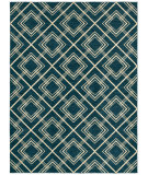 RugStudio presents Shaw Melrose Las Palmas Indigo 18400 Machine Woven, Good Quality Area Rug