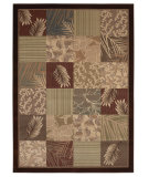 RugStudio presents Shaw Beachside Laurel Bay Multi 06440 Machine Woven, Better Quality Area Rug