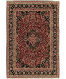 RugStudio presents Shaw Stonegate Lismore Red 02800 Machine Woven, Best Quality Area Rug