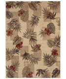 RugStudio presents Shaw Beachside Makiki Heights Beige 08100 Machine Woven, Better Quality Area Rug