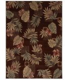RugStudio presents Shaw Beachside Makiki Heights Brown 08700 Machine Woven, Better Quality Area Rug