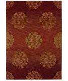 RugStudio presents Shaw Tommy Bahama Home-Nylon Mandalay Grand Cranberry 54800 Machine Woven, Good Quality Area Rug