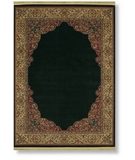 RugStudio presents Shaw Classic Style Winchester Border Ebony - 21500 Machine Woven, Better Quality Area Rug
