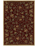 RugStudio presents Shaw Classic Style Mantova Vineyard Garnet 34800 Machine Woven, Better Quality Area Rug