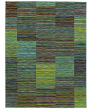 RugStudio presents Rugstudio Sample Sale 63934R Blue 25400 Machine Woven, Good Quality Area Rug