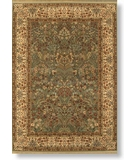 RugStudio presents Shaw Modern Home Aasmani Sage - 5300 Machine Woven, Best Quality Area Rug