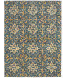 RugStudio presents Shaw Mirabella Messina Blue 42400 Machine Woven, Good Quality Area Rug