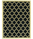 RugStudio presents Rugstudio Sample Sale 63942R Black 1500 Machine Woven, Good Quality Area Rug