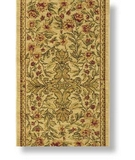 RugStudio presents Shaw Antiquities Mille Fleur Beige - 66100 Machine Woven, Good Quality