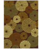 RugStudio presents Shaw Bob Timberlake Millstone Dark Brown 09710 Machine Woven, Good Quality Area Rug