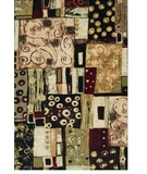 RugStudio presents Shaw Modern Elements Modern Art Multi - 10440 Machine Woven, Better Quality Area Rug