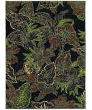 RugStudio presents Shaw Mirabella Naples Black 37500 Machine Woven, Good Quality Area Rug