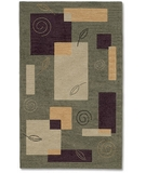 RugStudio presents Shaw Nexus Natures Geometry Thyme N0101 Machine Woven, Best Quality Area Rug