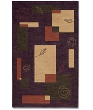 RugStudio presents Shaw Nexus Natures Geometry Hyacinth N0102 Machine Woven, Best Quality Area Rug