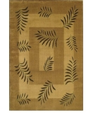 RugStudio presents Shaw Accents New Leaf Natural - 14100 Machine Woven, Good Quality Area Rug
