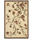 RugStudio presents Shaw Centre Street Olivia Beige 14100 Machine Woven, Good Quality Area Rug