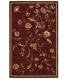 RugStudio presents Shaw Centre Street Olivia Red 14800 Machine Woven, Good Quality Area Rug