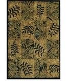 RugStudio presents Shaw Accents Outback Ebony - 19500 Machine Woven, Good Quality Area Rug