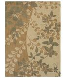 RugStudio presents Shaw Pacifica Flora Bella Antique Gold 03200 Machine Woven, Best Quality Area Rug