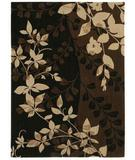 RugStudio presents Shaw Pacifica Flora Bella Cocoa 03700 Machine Woven, Best Quality Area Rug