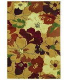 RugStudio presents Shaw Reverie Paradise Gold 27700 Machine Woven, Better Quality Area Rug