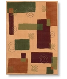 RugStudio presents Shaw Reverie Pond Gold - 08700 Machine Woven, Better Quality Area Rug