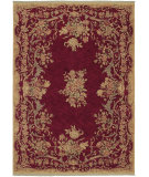 RugStudio presents Shaw Stonegate Queen Victoria Garden Red 07800 Machine Woven, Best Quality Area Rug