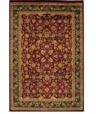 RugStudio presents Shaw Accents Roosevelt Garnet - 21800 Machine Woven, Good Quality Area Rug