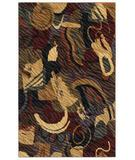 RugStudio presents Shaw Centre Street Roxy Multi 15440 Machine Woven, Good Quality Area Rug