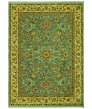 RugStudio presents Rugstudio Famous Maker 38162 Empress Light Blue Machine Woven, Good Quality Area Rug