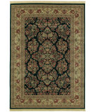 RugStudio presents Shaw Classic Style Royal Sarouk Ebony 30500 Machine Woven, Better Quality Area Rug
