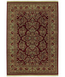 RugStudio presents Shaw Classic Style Royal Sarouk Garnet 30800 Machine Woven, Better Quality Area Rug