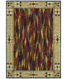 RugStudio presents Shaw Bob Timberlake Salem Glass Multi 07440 Machine Woven, Good Quality Area Rug