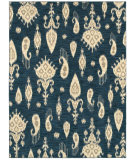 RugStudio presents Rugstudio Sample Sale 85974R Indigo 17400 Machine Woven, Good Quality Area Rug