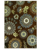 RugStudio presents Shaw Newport Sanjula Brown 12700 Machine Woven, Better Quality Area Rug