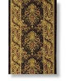 RugStudio presents Shaw Antiquities Savonnerie Ebony - 67500 Machine Woven, Good Quality